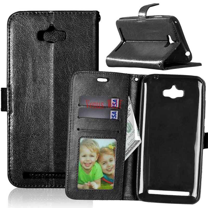 Flip Case for <font><b>ASUS</b></font> ZenFone Max <font><b>Z010D</b></font> ZC550KL ZC 550KL 550 ZC550 KL Phone Leather Cover for <font><b>ASUS</b></font>_<font><b>Z010D</b></font> Z010DA Coque Fundas Bags image