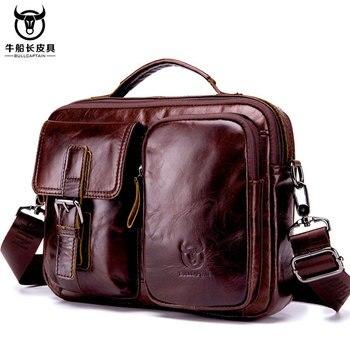 Desinger Men Briefcase Genuine Leather Messenger Laptop Bag Business messenger Bags for Document Shoulder Handbags Computer bag Cross Body Bags
