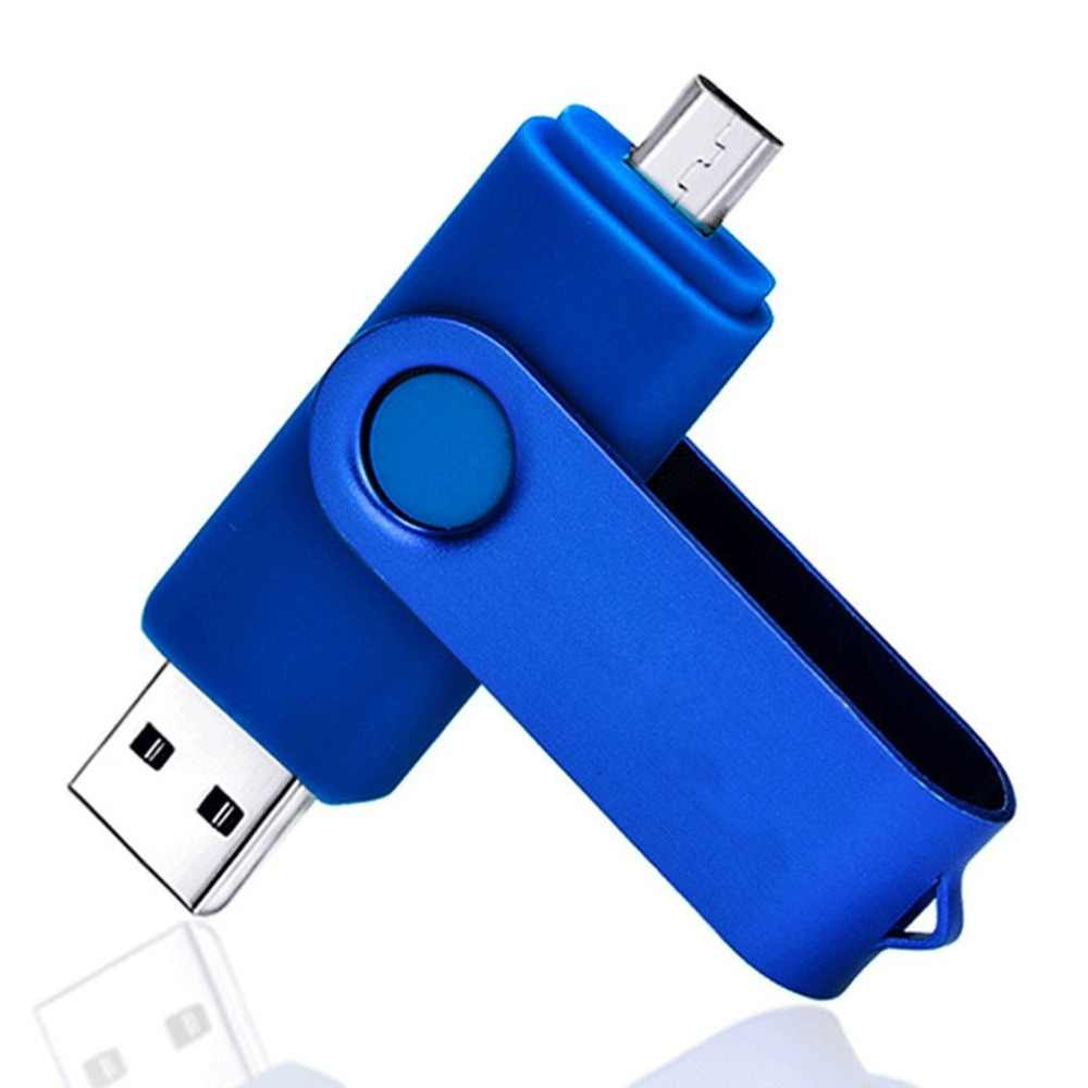 2 in 1 OTG USB Flash Drive 256GB USB 3.0 di Memoria U Disco di Supporto della scheda di memoria di Colore Della Caramella per Finestre 7/8/10/Vista/2000