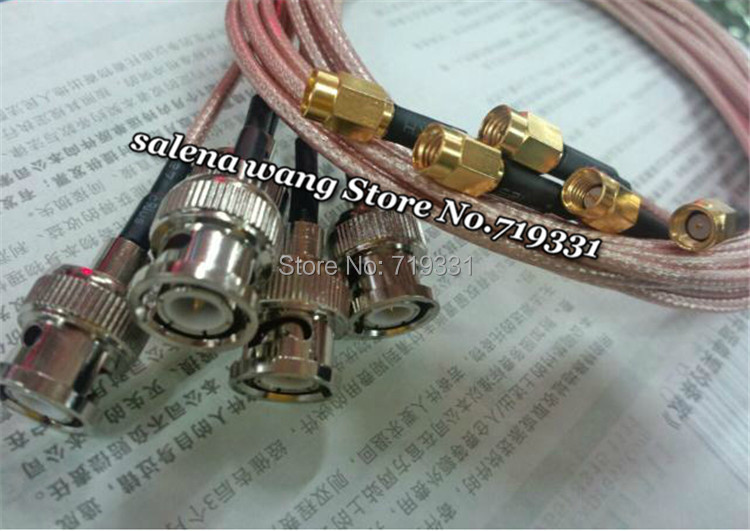 100 cm RF Jumper Cable BNC Female Jack bulkhead to SSMA Male Plug Cable RG316 bnc м клемма каркам