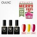 Esmalte de uñas Laca Oulac 12 ml 100% Gel Genuino 2016 Fashion Nail art Diseños Venta Caliente Mejores Geles de Uñas