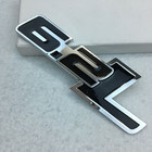 3D Styling Metal 6.2L Logo Letter Decal Rear Trunk Badge Emblem For Ford Raptor F150 F250 F350 F450 F550 F650 F750