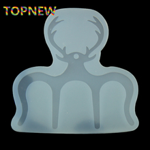 Antlers Silicone Mold Epoxy Resin Casting Jewelry Pendant Craft Bookmarks Piano Clamps Clips Making for Book Page Holder