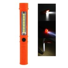 Portable Mini LED Magnet COB Inspection work Light Lamp Multifunction COB LED Mini Pen 2 Mode work flashlight