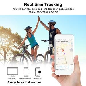 Image 5 - Bicycle GPS Tracker Bike Taillight 2600mAh Battery Waterproof IPX7 Free Web APP Bike GPS Locator T19 Watchdog CPU Anti theft