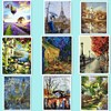 Hot Wall Art Frameless Picture Painting By Numbers DIY Digital Canvas Oil Painting Home Decor Of