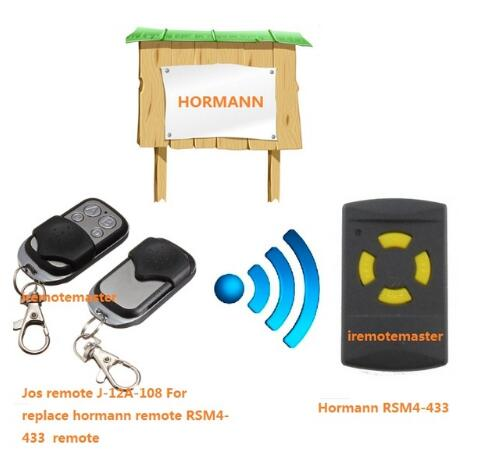 Hormann RSM4 replacement remote control 433.92Mhz free shopping