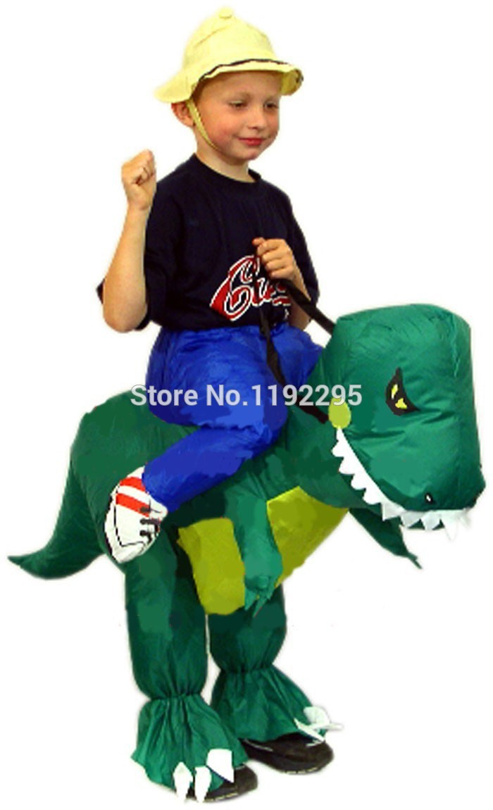 kids dinosaur inflatable costumes halloween costume for kids christmas costumes funny carnival costumes apparel accessories - Childrens Funny Halloween Costumes