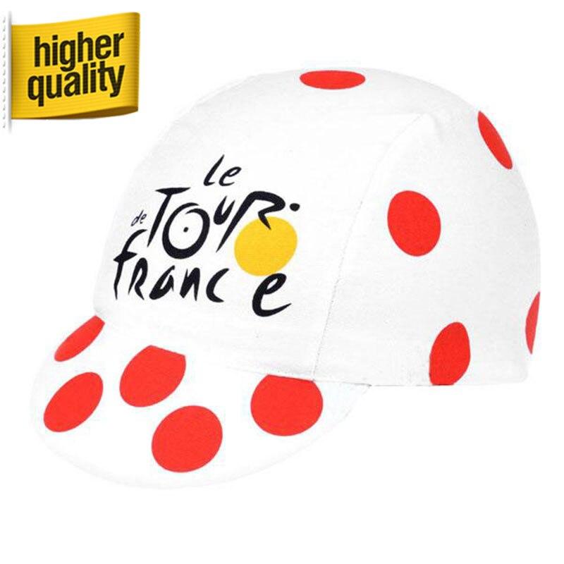 Prix pour 4 couleurs Tour de France en plein air Pro vélo bouchon Sweatproof écran solaire chapeaux Gorras vtt vélo chapeaux Casquette