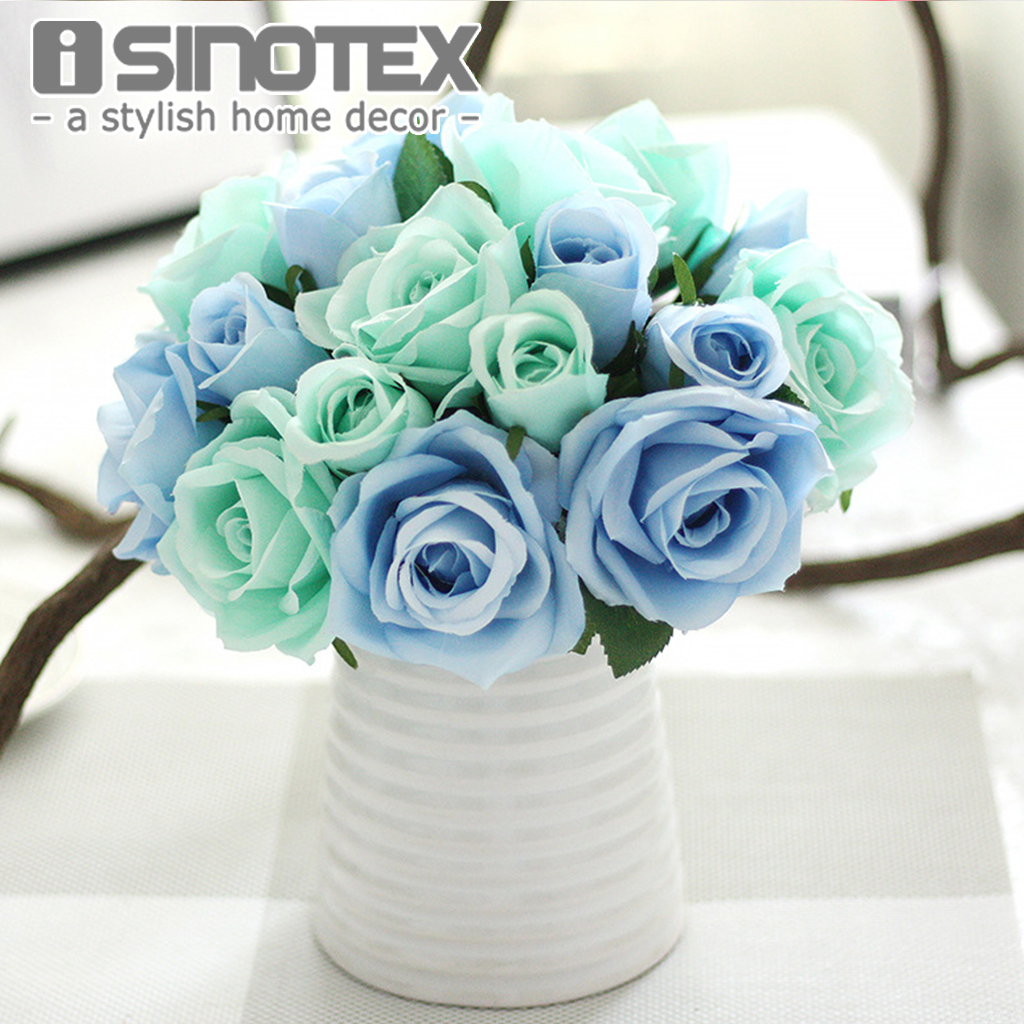 Aliexpress Decoration Mariage Aliexpress Buy Rose Flowers Silk Artificial Flowers