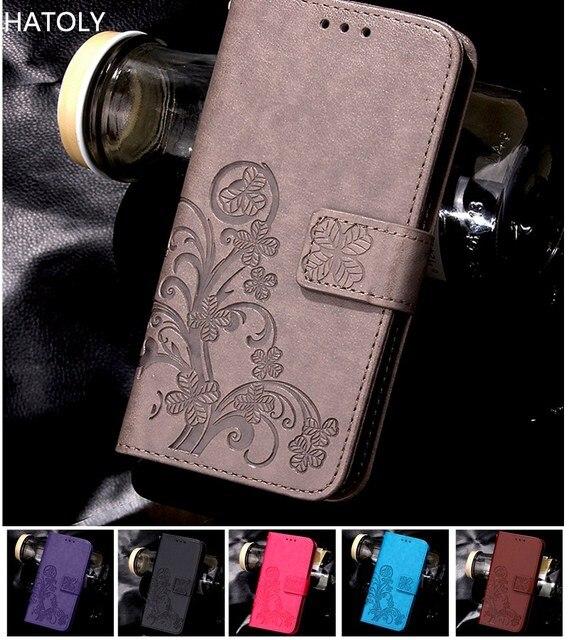 HATOLY For Phone Case Vivo X7 Cover Flip PU Leather & Silicone Holster Case For Vivo X7 Case For BBK Vivo X7 Funda Coque 5.2 ''