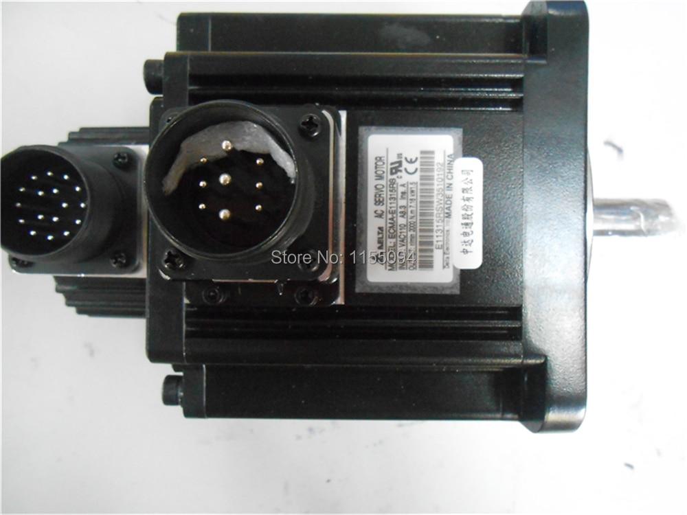 220 V 1.5KW 7.16NM 2000 rpm 130 milímetros ECMA-E11315RS A2 AC Servo Motor com Chaveta oil seal Nova