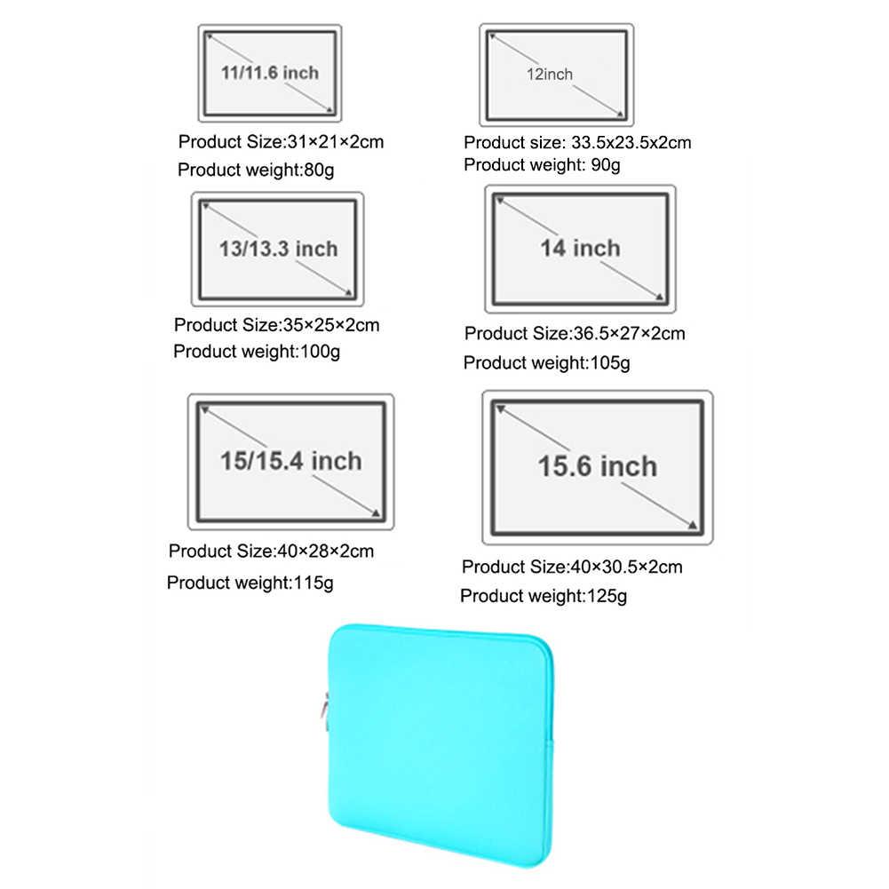 Новая защитная втулка чехол мешок с застежкой-молнией для 14 дюймов MacBook Air Pro1 возрастом 12, 13, 14, 15, 15,6 дюймов ультрабук Тетрадь сумка Лидер продаж