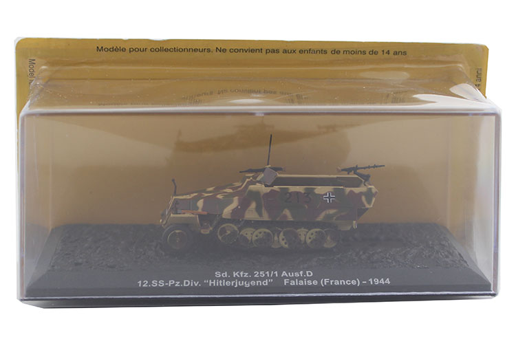 1/72 German sd.kfz. 251/1 Semi tracked armored vehicle model Alloy collection model Holiday gift omnilux подвесной светильник omnilux oml 80703 03