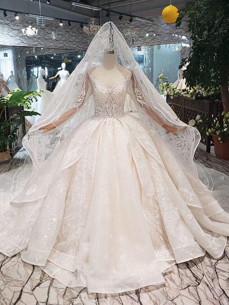 aba4cb67a top 8 most popular vestidos de noivas princesa cristal 2 15 ideas ...