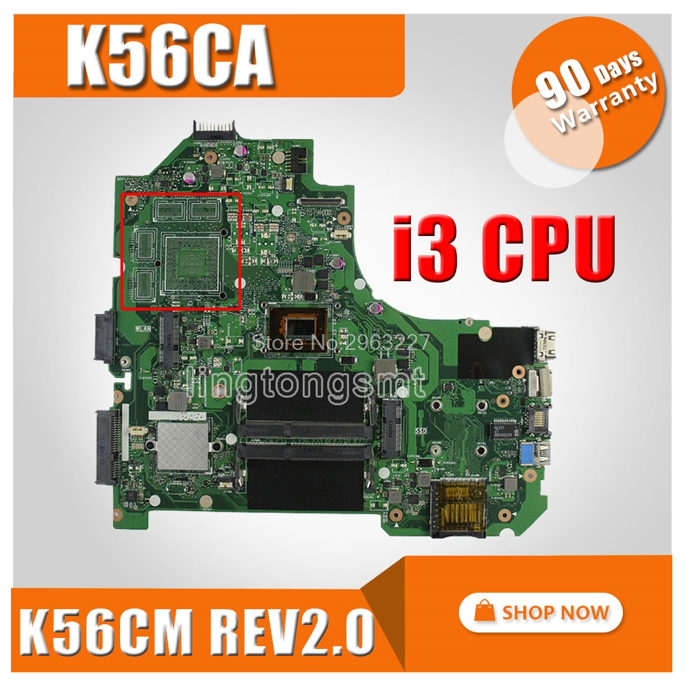 Original for ASUS S550CA K56CM K56CA motherboard I3 CPU integrated Fully tested 100% working Mainboard