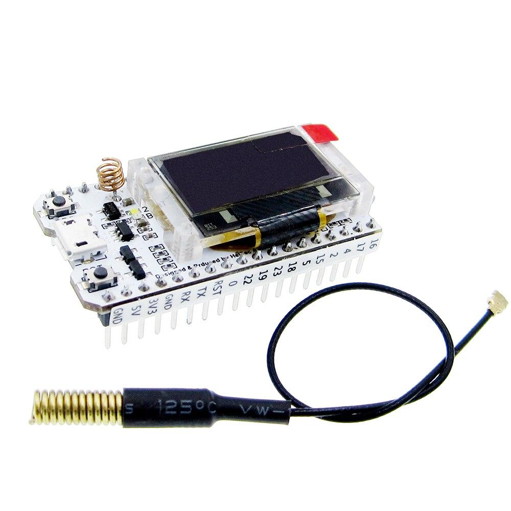 SX1278 ESP32 LoRa 0.96 Inch Blue OLED Digital Display Bluetooth WIFI Kit Module IOT Development Board 433MHz 470MHz sx1278 development board for lora spread spectrum wireless module 433mhz stm32f030 ra 01 ch340 serial to usb chip leaning board