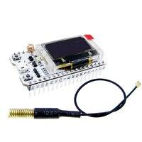 Tela digital oled azul sx1278 esp32  0.96 Polegada  bluetooth  wifi  kit de módulo  placa de desenvolvimento iot  433mhz 470mhz