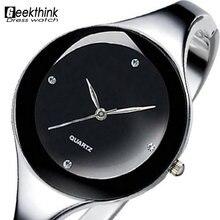 font b Relojes b font font b mujer b font 2016 Stainless steel Wristwatch Bracelet