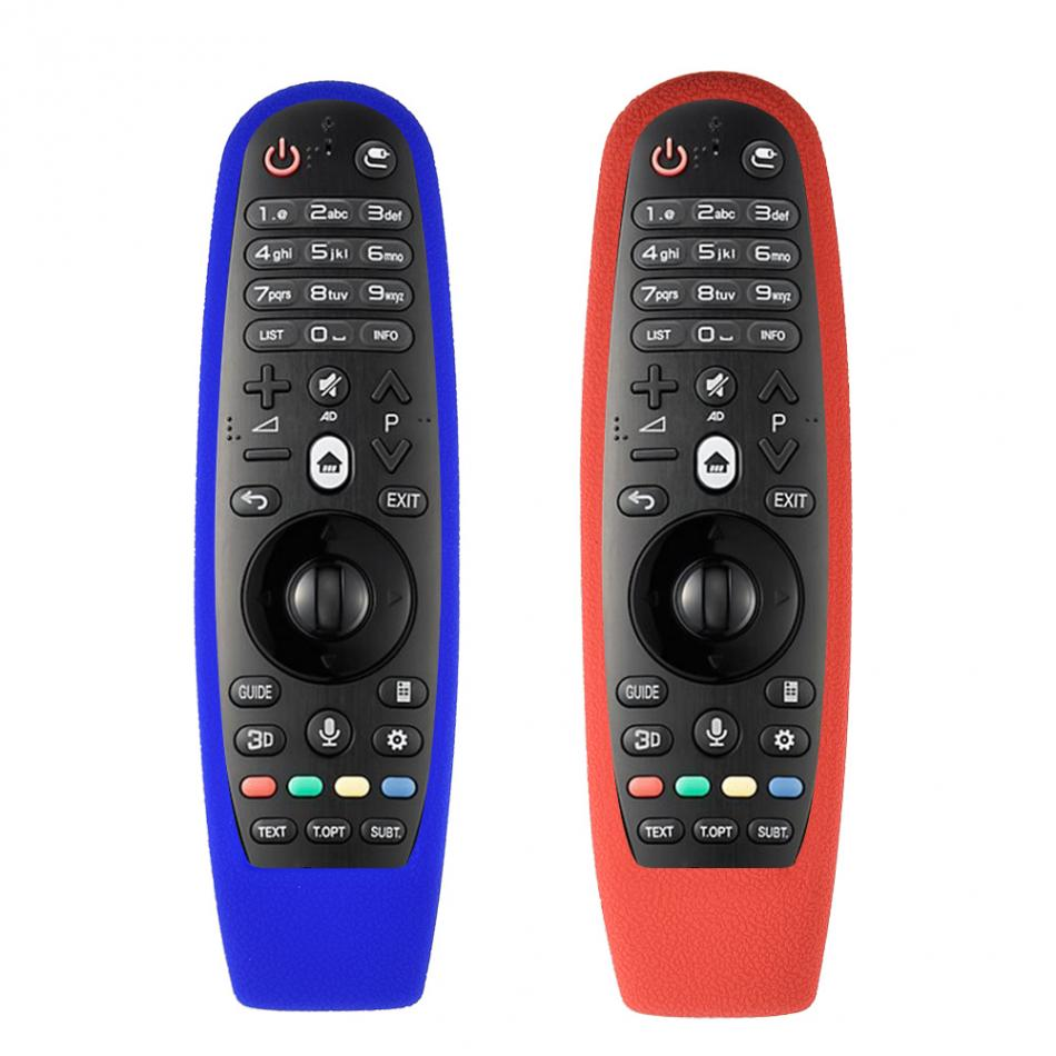 Doux Silicone TV Cas En Caoutchouc Anti-Poussière Housse De Protection Pour LG AN-MR600 Télécommande En Gros
