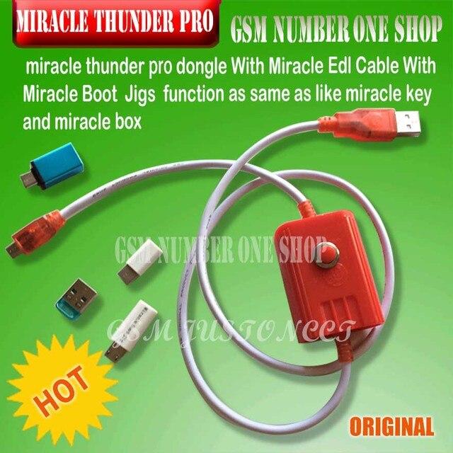 US $107 16 5% OFF|Miracle Box / Miracle Thunder pro key miracle pro thunder  dongle +cable Miracle Thunder pro dongle no need miralce box and key-in