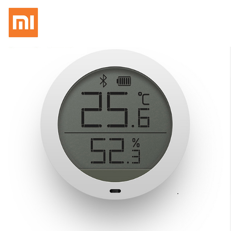 New Original Xiaomi Mijia Bluetooth Temperature Humidity Digital Thermometer Moisture Meter Sensor LCD Screen Smart Mi Home APP цена 2017