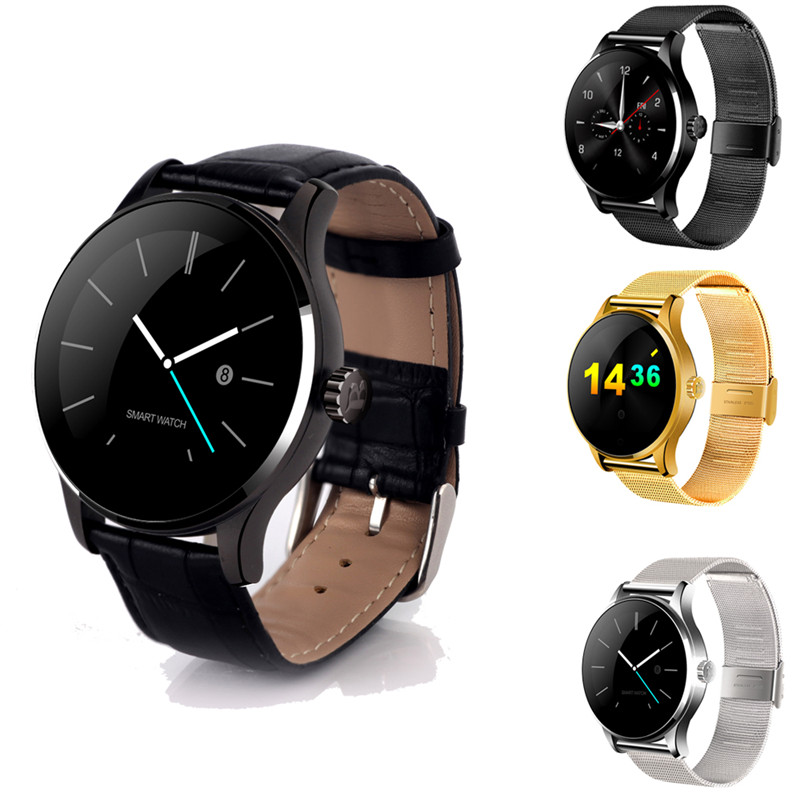 K88H Smart Watch With Camera Sport Pedometer bluetooth Smartwatch replace strap SIM Card Smart Watches for Android Ios phone