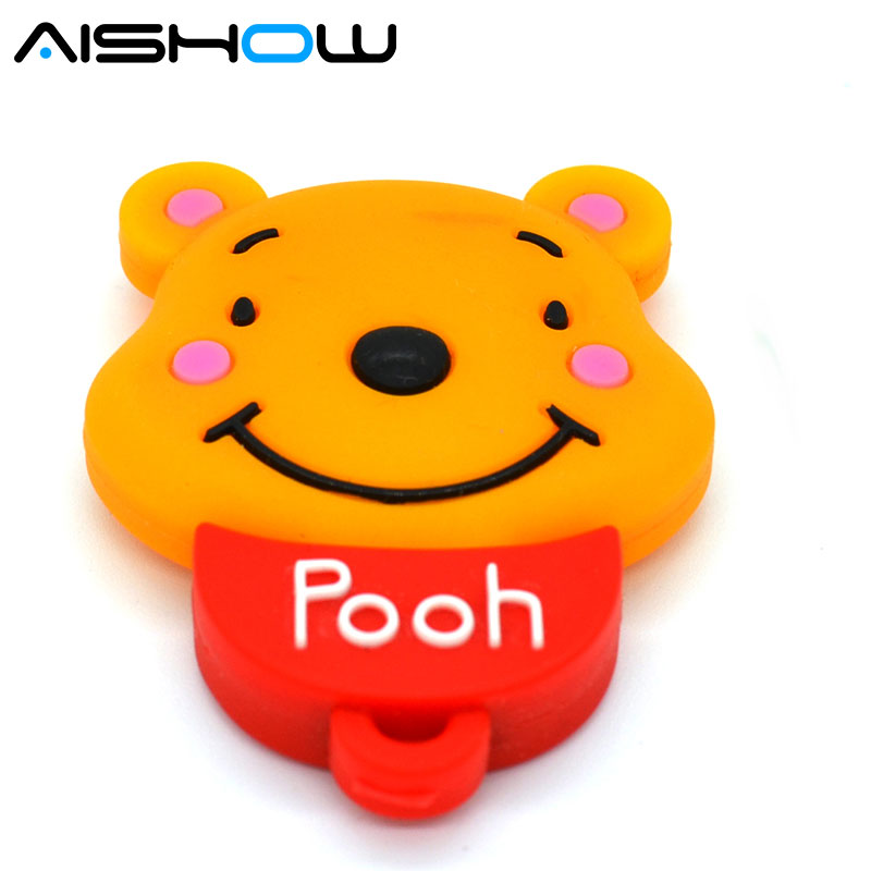 pen drive cartoon bear usb flash drive pendrive memory stick animals 8GB 16GB 32GB 64GB Free shipping|stick animals|usb flash drive pendrive|bear usb - title=