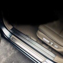 lsrtw2017 stainless steel car door threshold for honda accord 2008 2009 2010 2011 2012 2013 8th