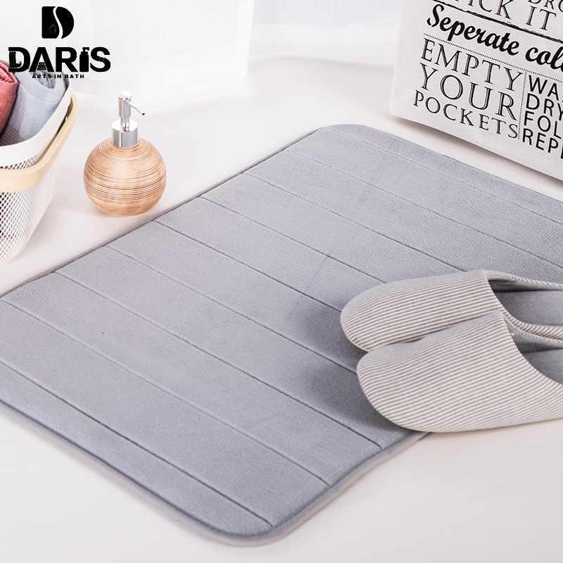 SDARISB замшевые ковры s ванная комната коврики силиконовые Туалет пол мохнатый коврик для ванной пены памяти Kicthen двери S микрофибра