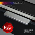 (4 pieces) 100mm VIBORG Modern Cabinet Cupboard Door Handles Pulls, Drawer Pulls Handles, Satin Nickel Brushed, SA-G20-100SS