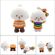 USB flash drive real capacity pendrive cartoon Clouds memory stick 4GB 8GB 16GB 32GB 64GB Personalized gift pen cle usb