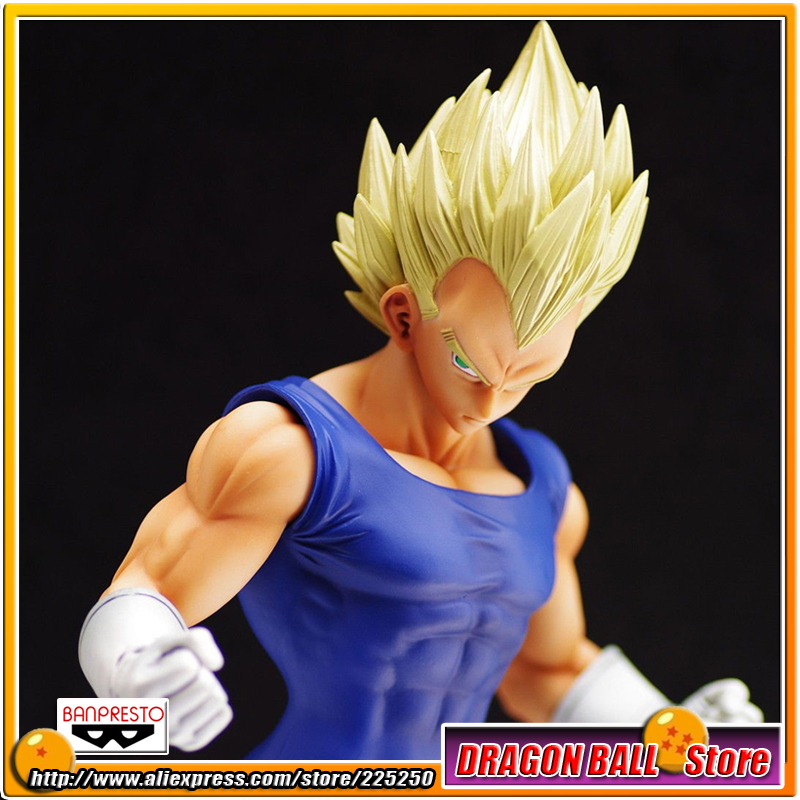 Japanese Anime DRAGONBALL Dragon Ball Z/Kai Original BANPRESTO Master Stars Piece (MSP) Series Toy Figures - Super Saiyan Vegeta DragonBall Store store