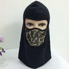 Hot Winter Windproof Fleece Full Face Neck Guard Military Masks Headgear Hat Riding Sports Cycling Balaclava