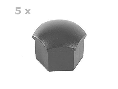 Grey Color Wheel Lug Bolt Cap 321601173A Set Of 5PCS For Audi And VW