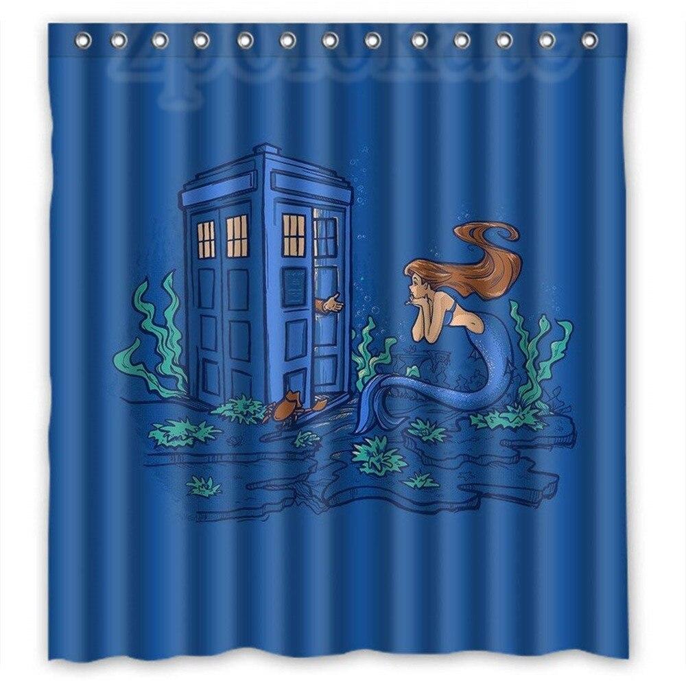 For Doctor Who 18 Fans Custom Waterproof Bathroom Shower Curtain ...