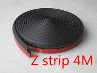 4 м Z тип резиновое уплотнение / автомобиль уплотнительная лента / печать шум / автомобиль / двери автомобиля резина / для Cruze kia k2