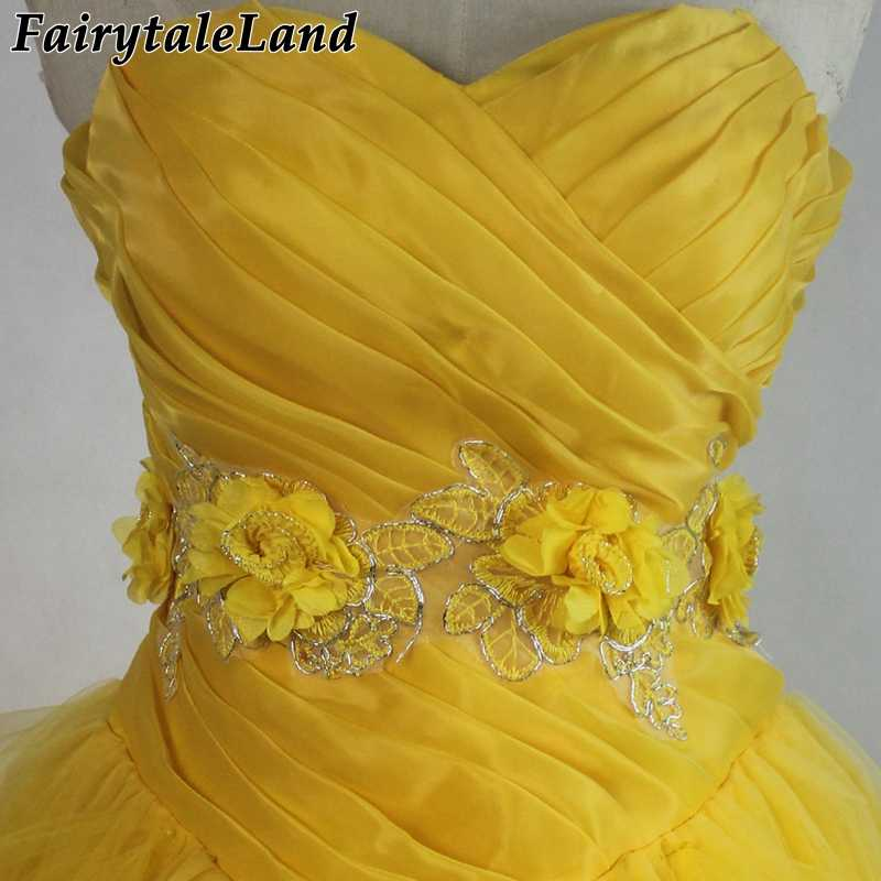 Princess Belle Outfit Emma Watson Movie Suit Beauty And The Beast Belle Costume Cosplay Halloween Gown Wedding Yellow Dress Halloween Costume Adult Costume Adultbelle Dress Aliexpress