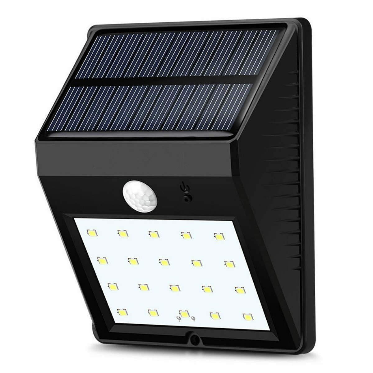 Dcoo Solar Lamp Outdoor 20 LEDs Motion Sensor Garden Decoration Lampada Luz Solar Waterproof Garden Led Solaire Street Light