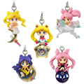 [PCMOS] 2017 New Anime Sailor Moon Twinkle Dolly Part 3 Phone Strap Charm Figure No Box 5pcs/Set   Free Shipping  5803-L