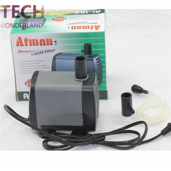 Atman aquarium AT 104 at 105 ultra silent submersible pump fish tank water pump liquid filter