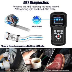 Image 3 - Ancel AD610 النخبة OBD2 سيارة تشخيص OBD 2 الماسح الضوئي محو وسادة هوائية تحطم البيانات ABS SAS كامل محرك السيارات الماسح الضوئي يعمل ل 68 سيارات