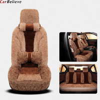 Car Believe Auto Leather car seat cover For mazda 6 gh cx 5 cx3 6 gg 3 bk 626 voyager car accessories covers for vehicle seats