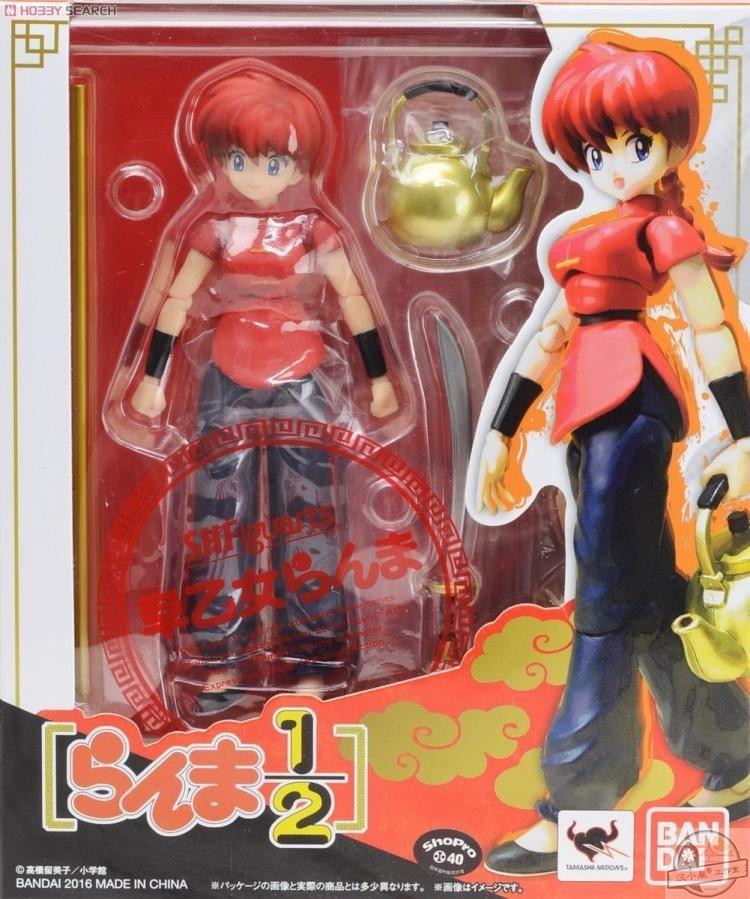 Japanese Anime Figure Original Anime Figure Ranma Movable Action Figure Collectible Model Toys For Boys