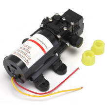 DC 12V Water Pressure Self-Priming Diaphragm Pump for Caravan/RV/Boat/Marine Boat