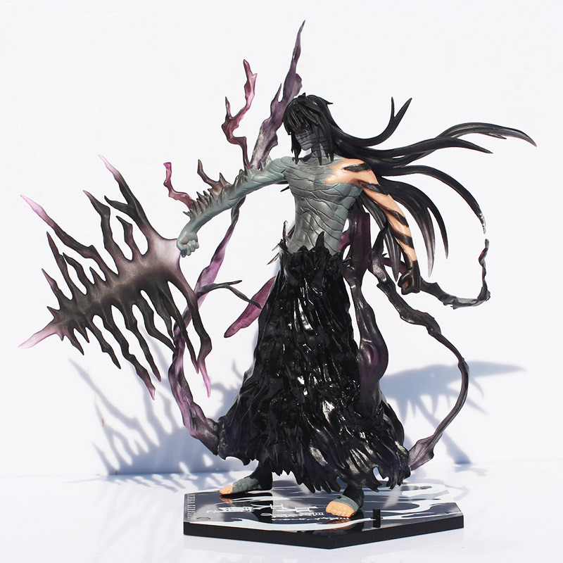 Cool 20cm Bleach Anime Kurosaki Ichigo Getsuga Tenshou PVC Action Figure Collection Model Toy play arts kai bleach kurosaki ichigo pvc action figure collectible model toy 27 5cm
