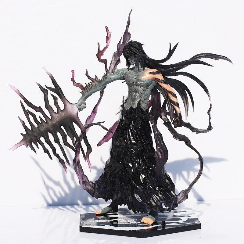 Cool 20cm Bleach Anime Kurosaki Ichigo Getsuga Tenshou PVC Action Figure Collection Model font b Toy