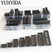 66 шт/лот dip ic розетки адаптер паяльный Тип Комплект розеток