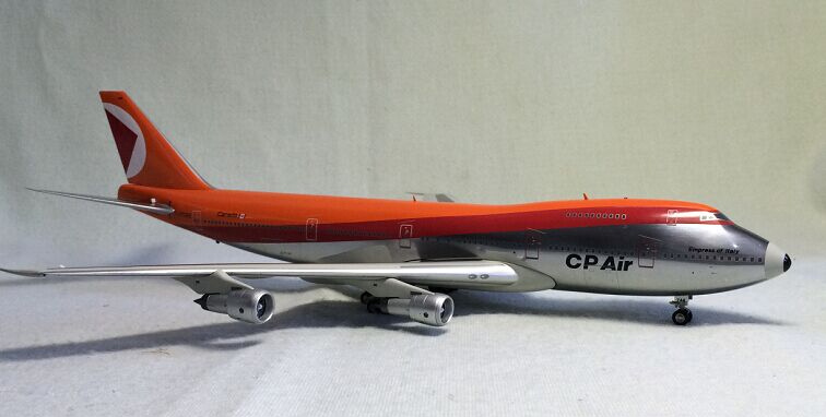 Rare Inflight200 1: 200 CP-AIR Boeing 747-200 Alloy aircraft model Favorites Model jc wings 1 200 boeing 747 8 aircraft alloy model the simulation model alloy aircraft favorites model