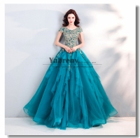 Blue green Quinceanera Dresses Ball Gown 2019